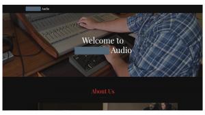 Audio Web Site
